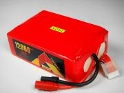 Lipo 6Sー12000mAh(35C)2P−AS150/XT150コネクター付き-ETop Power
