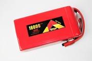 Lipo 6Sー16000mAh(35C)AS150/XT150コネクター付き E-Top Power