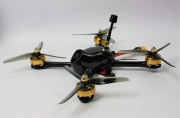 Morgoth X5 Carbon Molded FPV Racing Frame FUTABA R2000SBM搭載完成モデル (iFlight)