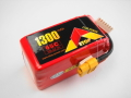 Lipo 6Sー1300mAh(65C)XT60 E−Top Power