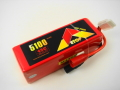 Lipo 6Sー5100mAh(45C) AS150付き E-Top Power