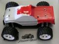 セントラル RTR 1/18電動モンスタートラックMRーX4 RTR(RC装置付完成済)08バンドa