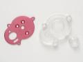 タミヤ 40510 OG10 GB-01 アルミモータープレート ピンク