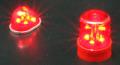 ABC 62742 パトカーライト 丸型赤色灯タイプ(写真右側のみ)