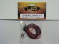 YR YR-003WT LEDライト レッド 5mm 2灯 タミヤライトユニット