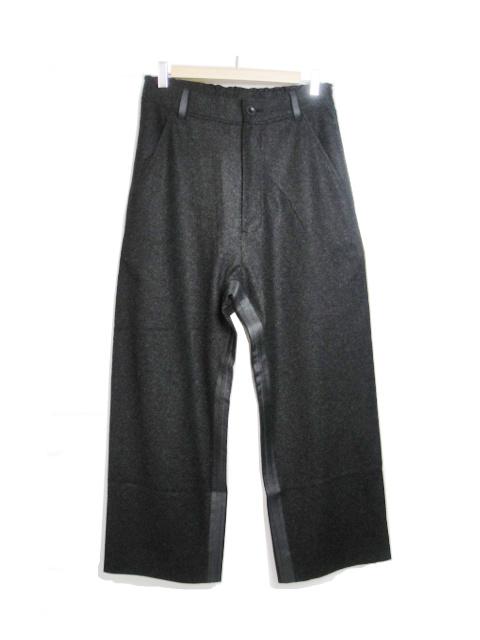【SALE/セール30%OFF】[送料無料]バーバラ アラン/BARBARAALAN/WOOL BAGGY PANTS. [43-182-0001]