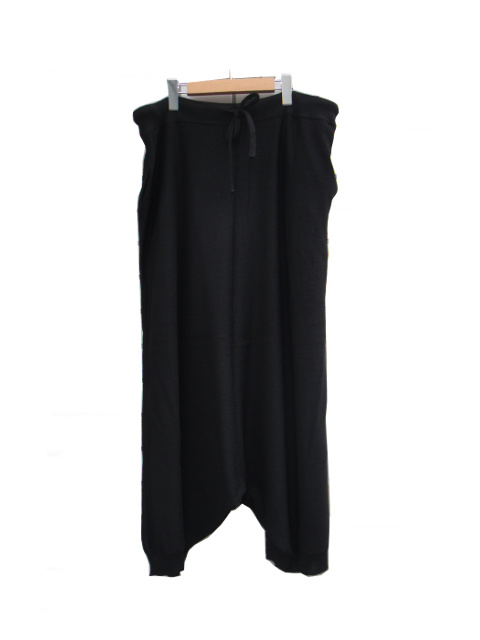 ≪New Arrival≫[送料無料]FORME D' EXPRESSION/KNIT SAROUEL PANTS.  [33-182-0003]