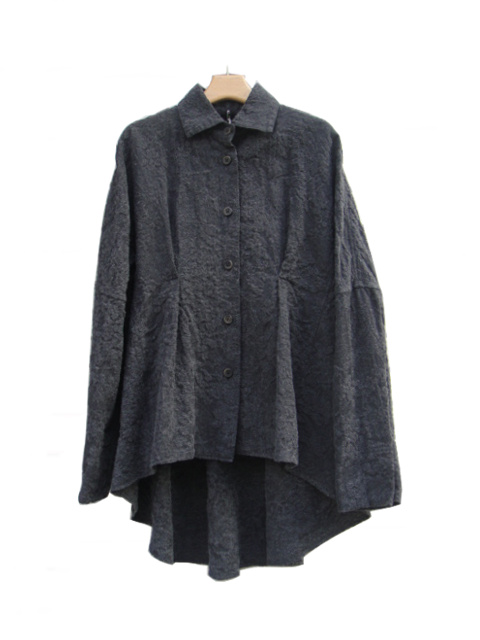 ≪New Arrival≫[送料無料]FORME D' EXPRESSION/TENT SHAPED SHIRT.  [31-182-0005]