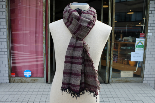 ≪New Arrival≫FORME D' EXPRESSION/MAILABARRE SCARF [48-202-0011]