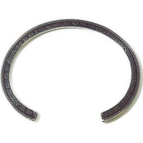 [送料無料]NORTHWORKS/ノースワークス/Edge of the 1$ coin Bracelet. [N514]