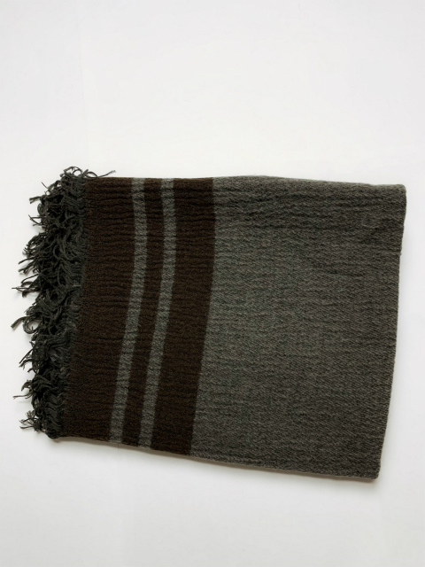 ≪New Arrival≫[送料無料]FORME D' EXPRESSION/SHETLAND BLANKET [48-192-0008]