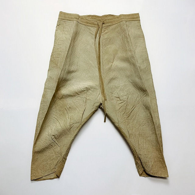 ≪New Arrival≫[送料無料]FORME D' EXPRESSION/LOOSE SAG PULLON PANTS [33-191-0009]