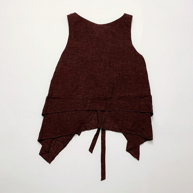 【SALE/セール/30%OFF】≪New Arrival≫[送料無料]FORME D' EXPRESSION/LAYERED APRON TOP [31-191-0010]