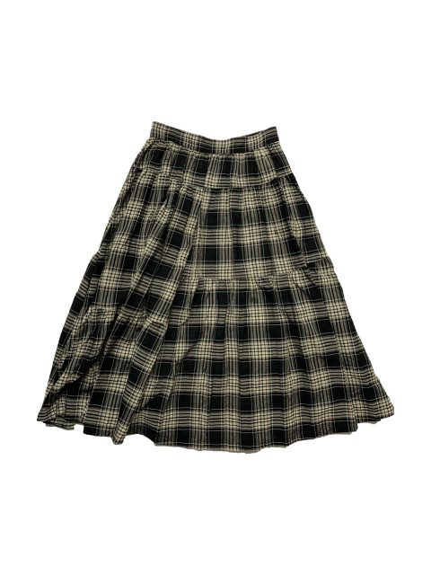 ≪New Arrival≫FORME D' EXPRESSION/TIERED MIDI SKIRT [33-212-0005]