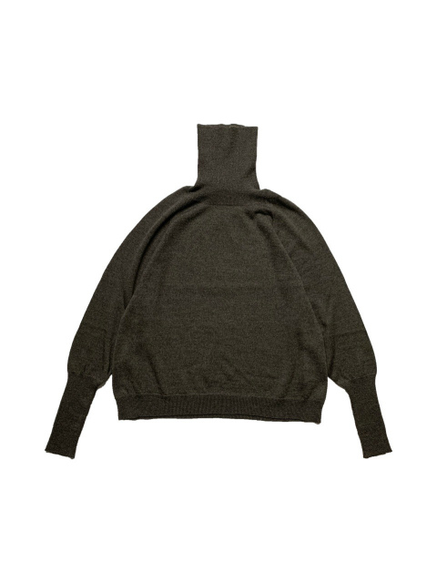 ≪New Arrival≫FORME D' EXPRESSION/TURTLE NECK PILLOVER [36-212-0003]