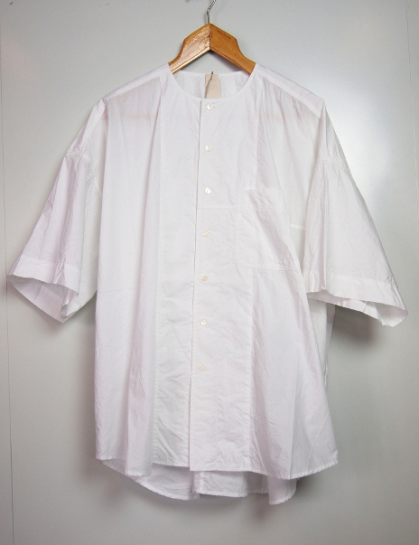 【SALE/セール/30%OFF】[送料無料]FORME D' EXPRESSION/OVERSIZED 1/2 SLEEVED SHIRT.  [41-181-0002]