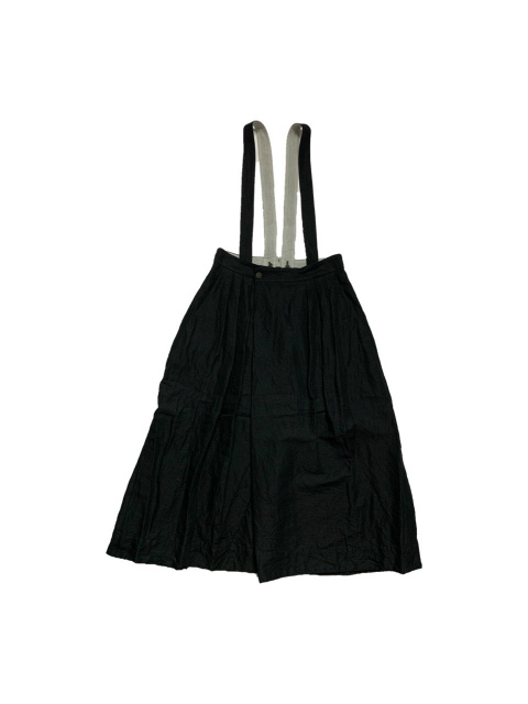 ≪New Arrival≫FORME D' EXPRESSION/WRAP SKIRT WITH SUSPENDER [33-211-0002]