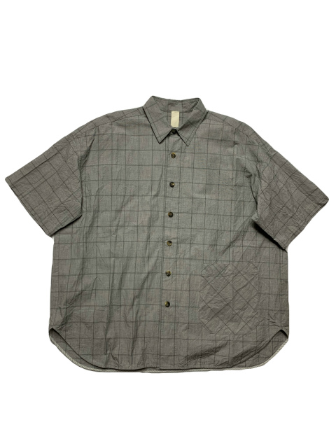 ≪New Arrival≫[送料無料]FORME D' EXPRESSION/ROUND SHIRT 1/2 SLEEVED [21-201-0003]