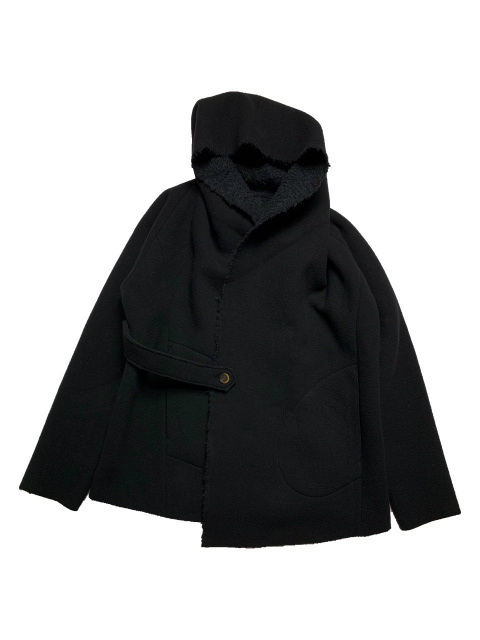 【SALE 30%OFF】FORME D' EXPRESSION/HOODED CARDIGAN JACKET [47-202-0001]