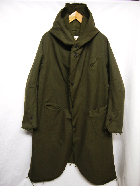 【SALE 40%OFF】SANGUE SACRO SULLE ROSE/HOODED COAT. [24-172-0001]