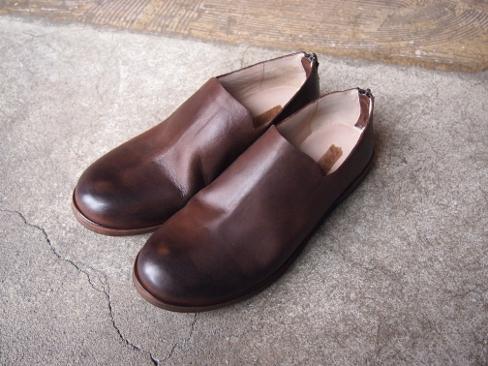 [送料無料]Marsell/マルセル/Back Zip Low Cut Shoes.[MM1936] [35-161-0001]