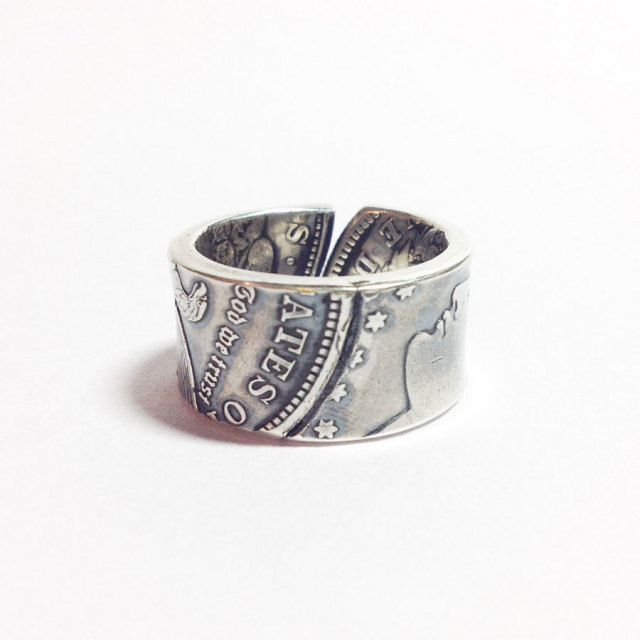 [送料無料]NORTHWORKS/ノースワークス/MORGAN DOLLAR PATCHWORK RING. [N501]