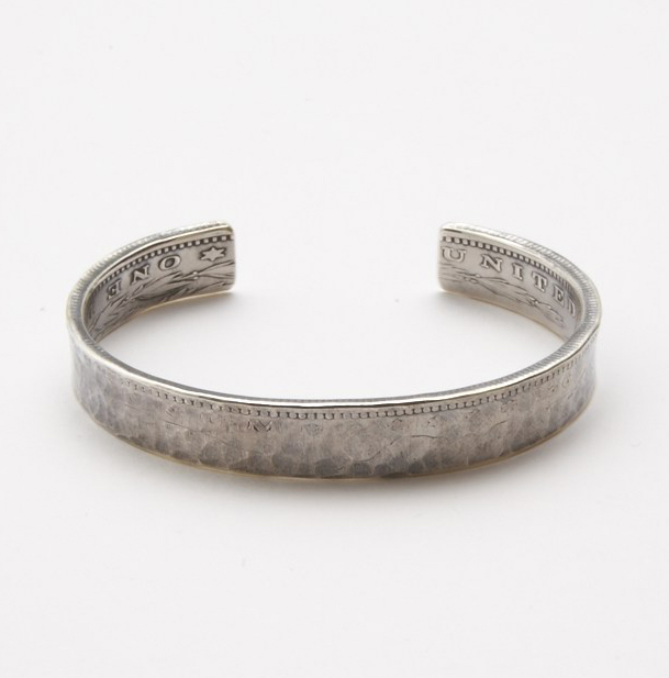 [送料無料]NORTHWORKS/ノースワークス/MORGAN DOLLAR HAMMER BANGLE. [N216]