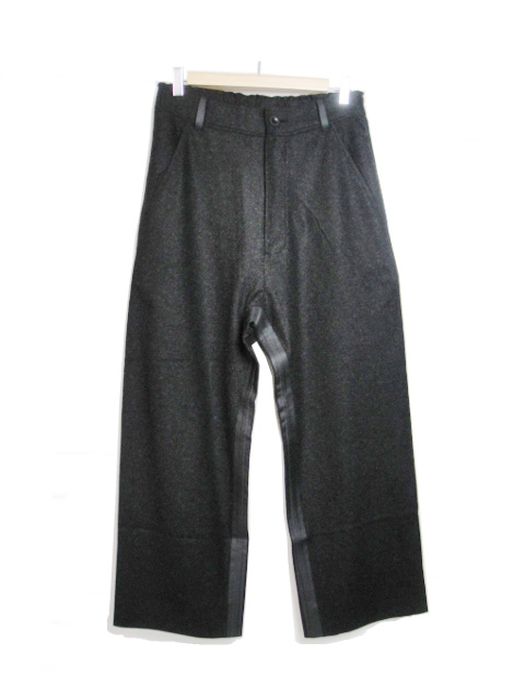 【SALE 30%OFF】バーバラ アラン/BARBARAALAN/WOOL BAGGY PANTS. [43-182-0001]