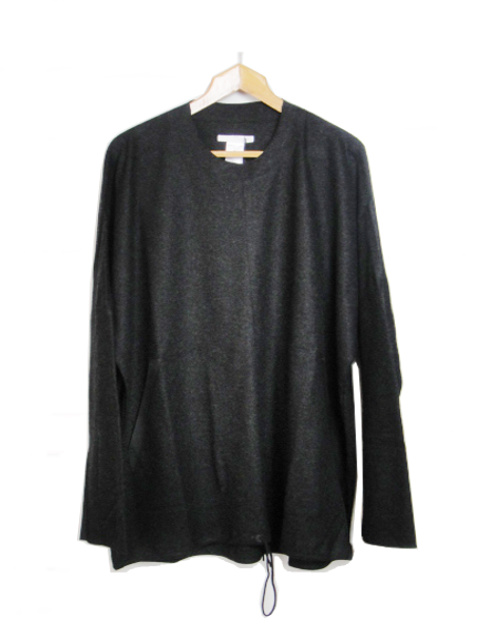【SALE/セール30%OFF】[送料無料]バーバラ アラン/BARBARAALAN/WOOL DRAWSTRING SWEATER. [42-182-0001]
