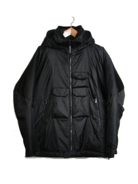[送料無料]AHIRAIN/ARMY JACKET TECHNO NYLON. [24-182-0005]