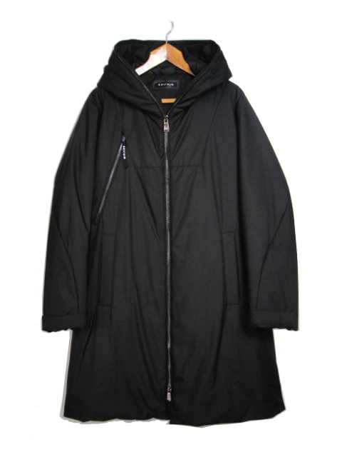 [送料無料]AHIRAIN/PARKA TECHNO POLYGAB LONG. [24-182-0006]