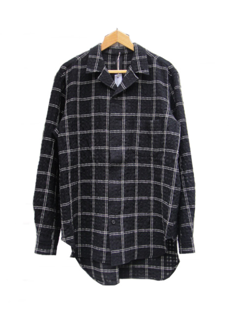 ≪New Arrival≫[送料無料]FORME D' EXPRESSION/CONVERTIBLE COLLARED SHIRTS.  [21-182-0007]