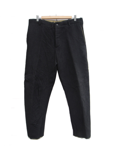 【SALE/セール30%OFF】[送料無料]FORME D' EXPRESSION/CROPPED SWAG PANTS.  [43-182-0002]