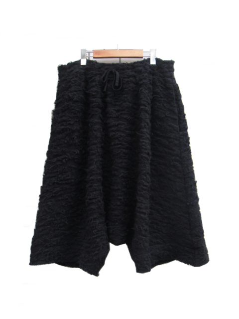 【SALE 40%OFF】FORME D' EXPRESSION/PELUCHE KNIT SAROUEL PANTS.  [33-182-0002]