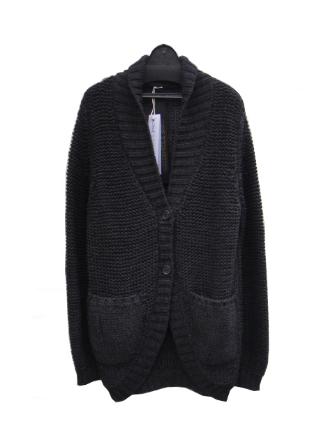 ≪ファイナルセール40%OFF!!1月31日まで≫←【30%OFF】[送料無料]FORME D' EXPRESSION/SHAWL NECK KNIT CARDIGAN.  [36-182-0004]