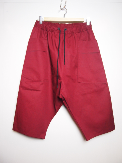 【SALE 30%OFF】BARBARA ALAN/DRILL CROPPED CARGO. [PNT1824/TC018][43-181-0005]