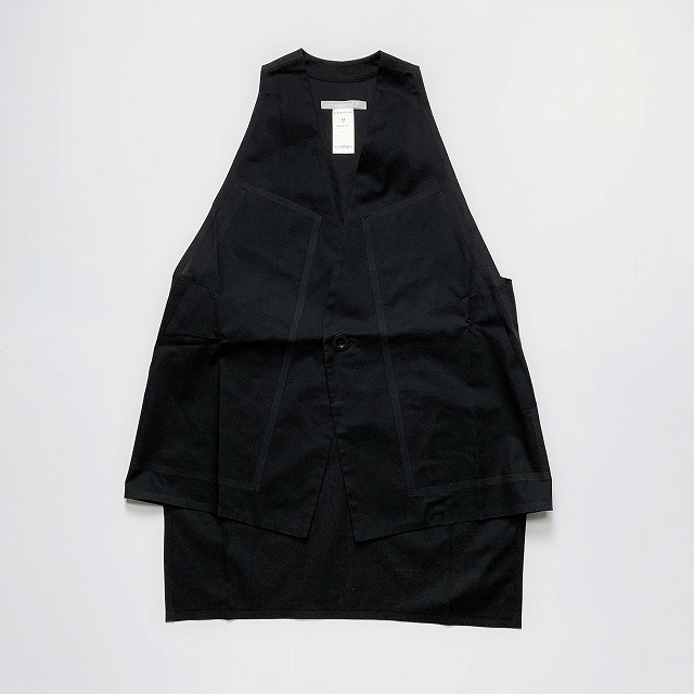 【OUTLET SALE60%OFF】[送料無料]BARBARA ALAN/COTTON END ON END RING WAISTCOAT [34-191-0009]