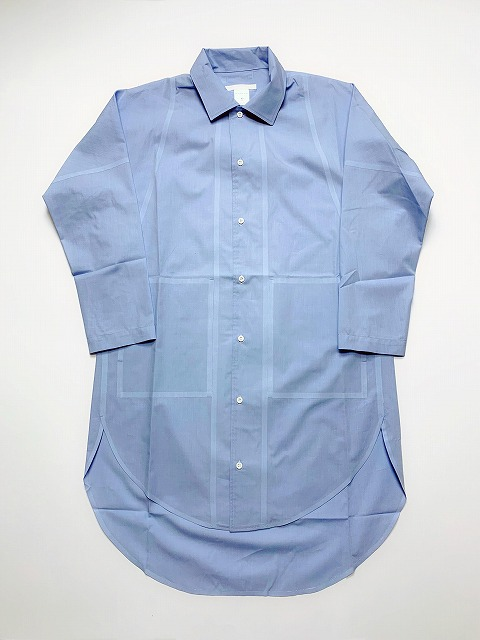 【SALE 30%OFF】BARBARA ALAN/COTTON END ON END CIRCLE SHIRT [31-191-0011]