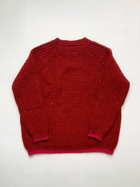 ≪New Arrival≫[送料無料]CASEY CASEY/WAFFLE PULLOVER DONEGAL [S13007] [26-192-0005]
