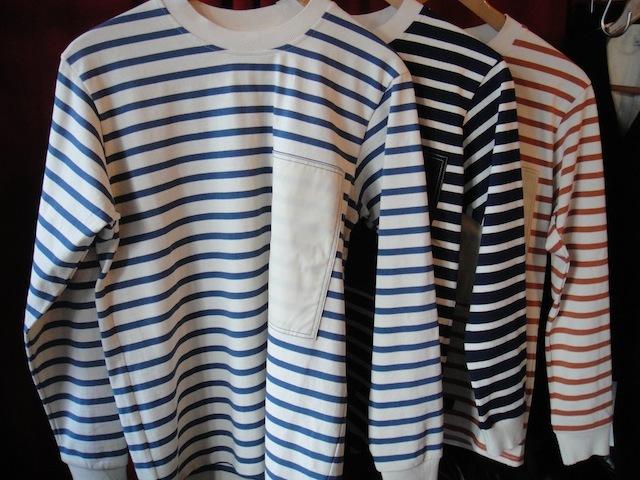 ●[セール/SALE/30%OFF]BLEU DE PANAME:BORDER L/S T-SHTボーダーロングスリーブTシャツ[32-131-0003]