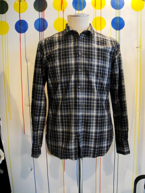 ≪30%OFF≫[送料無料]u-ni-ty;CHECK SHIRTS[31-132-0006]