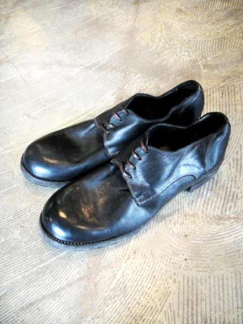 [送料無料]GUIDI/グイディ/792Z  Low Lace Thick Sole shoes[35-132-0006]