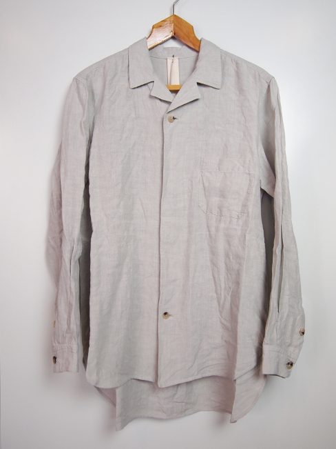〇[送料無料]FORME D' EXPRESSION/CONVERTIBLE COLLARED SHIRTS.  [21-181-0002]