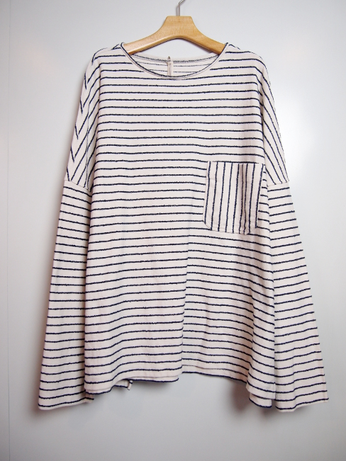 ≪New Arrival≫[送料無料]FORME D' EXPRESSION/OVERSIZED KIMONO PULLOVER.  [42-181-0001]