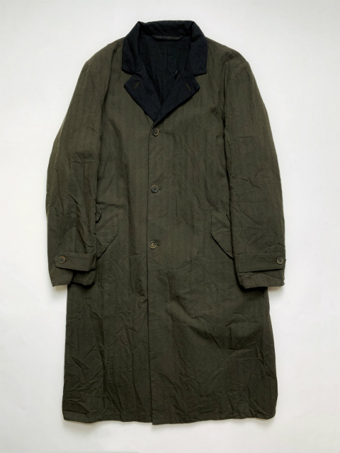 ≪New Arrival≫[送料無料]FORME D' EXPRESSION/REVERSIBLE DUSTER COAT [34-192-0009]
