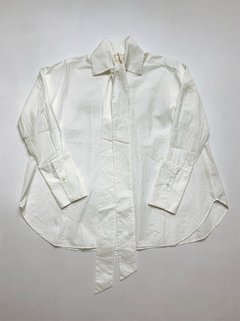 ≪New Arrival≫[送料無料]FORME D' EXPRESSION/BOW TIED BLOUSE [31-192-0006]