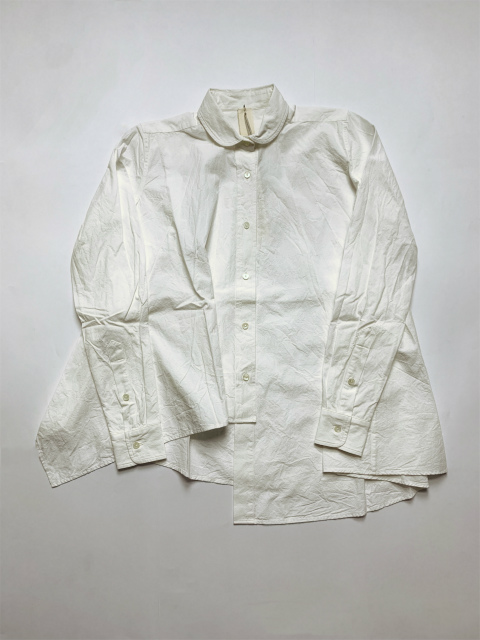 ≪New Arrival≫[送料無料]FORME D' EXPRESSION/GLUB ASYMMETIC SHIRT [31-192-0005]