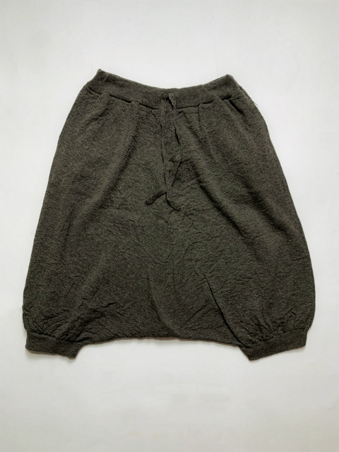 【SALE 30%OFF】FORME D' EXPRESSION/EMBOSSES KNIT SAROUEL [33-192-0007]