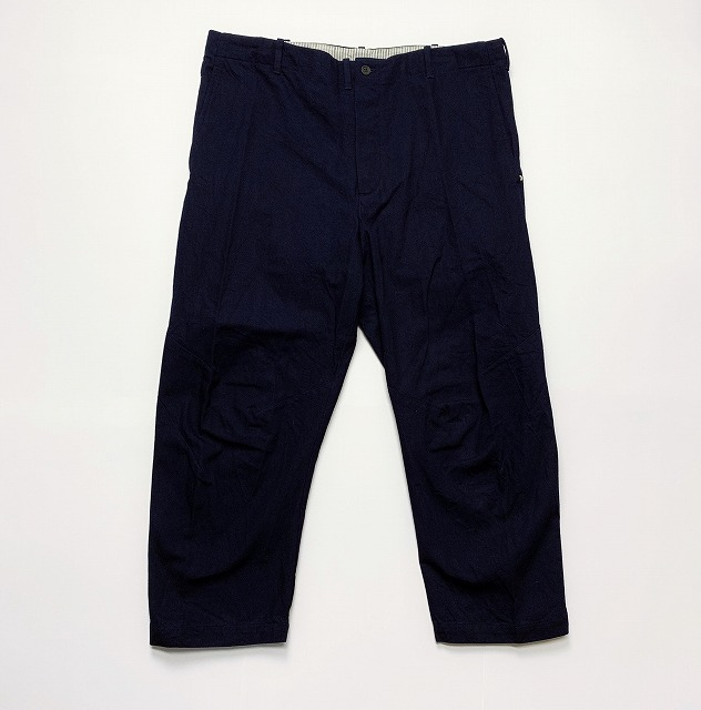 ≪New Arrival≫[送料無料]FORME D' EXPRESSION/CROPPED SWAG PANTS [23-191-0005]