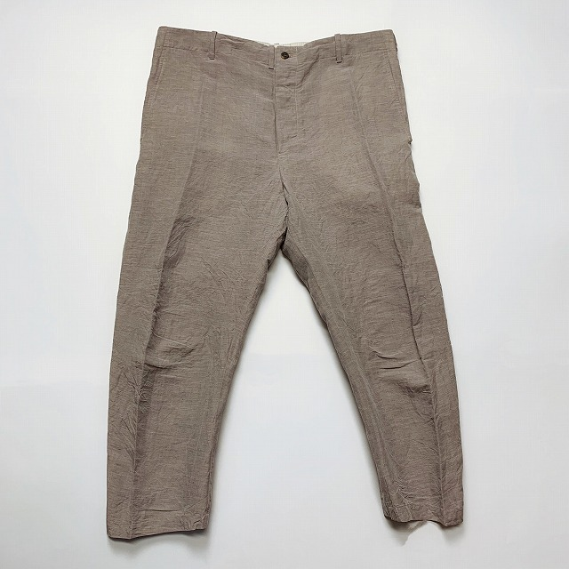 ≪New Arrival≫[送料無料]FORME D' EXPRESSION/CROPPED SWAG PANTS [23-191-0006]